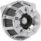 Chrome 10-Gauge Inverted Series Air Cleaner Kit - 18-946
