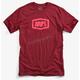 Burgandy Essential T-Shirt
