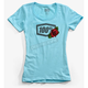 Women's Ice Blue Rose T-Shirt