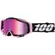 Racecraft Floyd Goggles w/Mirror Pink Lens - 50110-248-02