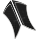 Black Stealth Driver Floorboards - TC-563B