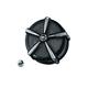 Black/Chrome ECE Compliant Mach 2 Air Cleaner Kit - 9390
