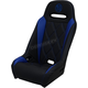 Black/Blue Extreme Diamond Stitch Seat - EXBUBLBDR