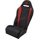 Black/Red Double T Stitch Performance Seat - PEBURDDTR