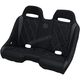 Black/Gray Diamond Stitch Extreme Bench Seat - EXBEGYDBR