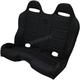 Black Straight Stitch Performance Bench Seat - PEBEBKSTR