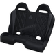 Black/Gray Diamond Stitch Performance Bench Seat - PEBEGYBDR