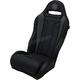 Black/Gray Diamond Stitch Performance Seat - PEBUGYBDC