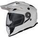 White Range Dual Sport Helmet