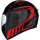 Red Strike Ops Attack Helmet