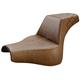 Brown LS-Step-up w/Lattice Stitch Passenger Seat - 818-28-173BR