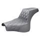 Black LS-Step-up w/Lattice Stitch Driver Seat - 818-28-172
