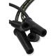Black Custom Plug Wire Set  - 171116-K