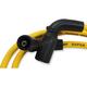 Yellow Custom Plug Wire Set  - 171116-Y