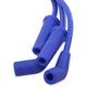 Blue Custom Plug Wire Set  - 171116-B