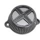 Black MAXXX M8 Air Cleaner w/Cover - LA-2390-03B