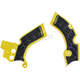 Yellow/Black X-Grip Frame Guards - 2688751017