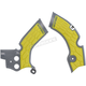 Gray/Yellow X-Grip Frame Guards - 2688751120