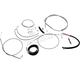 Complete Braided Stainless Cable Kit for 15