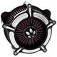 Contrast Cut Turbine Air Cleaner - 0206-2138-BM