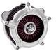 Chrome Turbine Air Cleaner - 0206-2138-CH