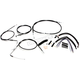 Black Vinyl XR Handlebar Installation Kit for use w/12