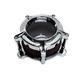 Chrome Clarian Air Cleaner Kit - 0206-2128-CH