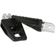 Black Anodized Front P-54 Extra Grip Footpegs - TSC-2026-1