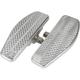 Raw Aluminum Front Mini Floorboards - TSC-2030-0