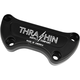 Machine-Cut Black Anodized Handlebar Clamps - TSC-2800-4
