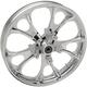 Chrome Front 21x3.5 Largo 3D Wheel  - 0201-2260