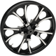 Black Front 21x3.5 Largo 3D Wheel - 0201-2261