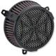 Black Cross Air Cleaner Kit - 606-0104-02B