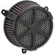 Black Spoke Air Cleaner Kit - 606-0104-04B