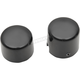 Black Axle Caps - 0214-1237