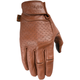 Brown Siege Leather Gloves