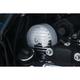 Chrome Finned Starter End Cover - 9266