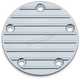 Chrome Finned Timing Cover - 9828