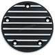 Satin Black Finned Timing Cover - 9829