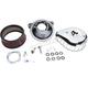 Chrome Mini Teardrop Stealth Air Cleaner Kit - 170-0441