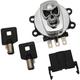 Chrome Skull Ignition Switch - 2106-0422