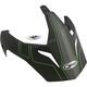 Matte Black/Hi-Vis Green Visor for GM11D Expedition Dual Sport Helmet - G011091