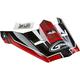 Youth Black/Red Visor for MX46 Uncle Helmet - G046845