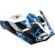 Youth Black/Blue Visor for MX46 Hooper Helmets - G046858