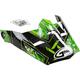 Youth Black/Green Visor for MX46 Hooper Helmets - G046859