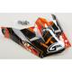 Youth Black/Orange Visor for MX46 Hooper Helmets - G046861