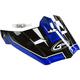 Black/Blue Visor for MX46 Uncle Helmet
