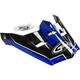 Youth Black/Blue Visor for MX46 Uncle Helmet - G046846