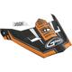 Youth Matte Black/Orange Visor for MX46 Uncle Helmet - G046849