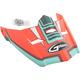 Matte Orange/Teal Visor for MX46 Uncle Helmet